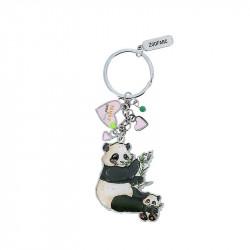 Porte-clé breloques panda...