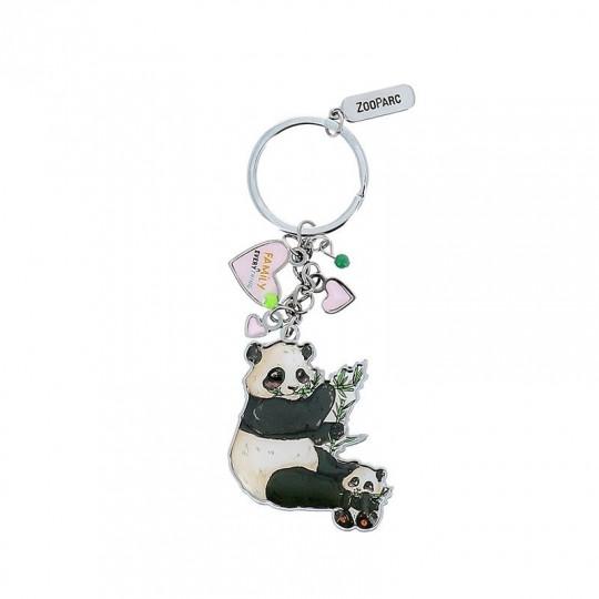 Porte-clé breloques panda family