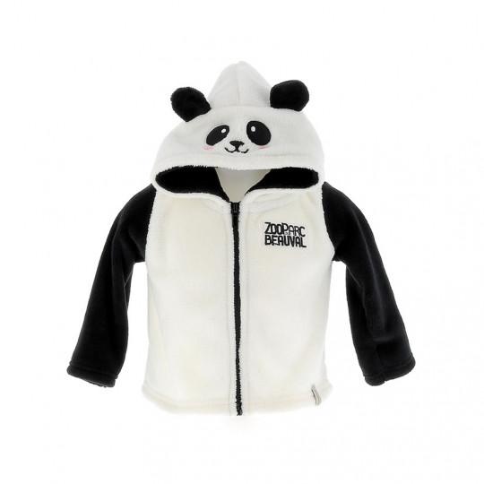 Veste polaire bébé panda