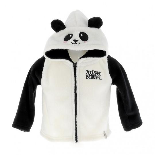 Veste polaire panda enfant