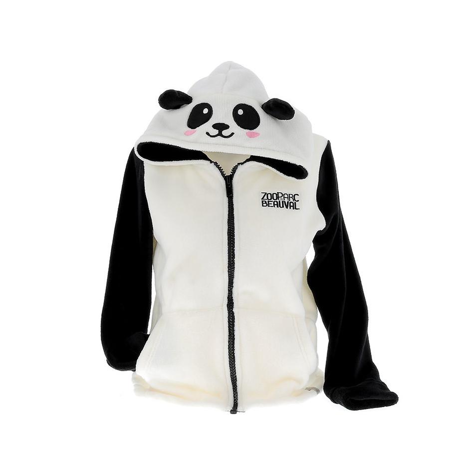 Beauval Du La Boutique De Polaire Veste Panda Adulte Zooparc 1nX8tFTw