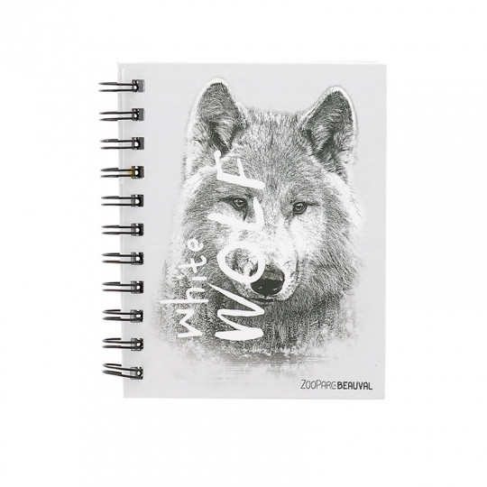 Carnet white wolf
