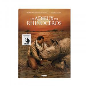 """Bande dessinée AFdPZ """"Les adieux du rhinocéros"""""""