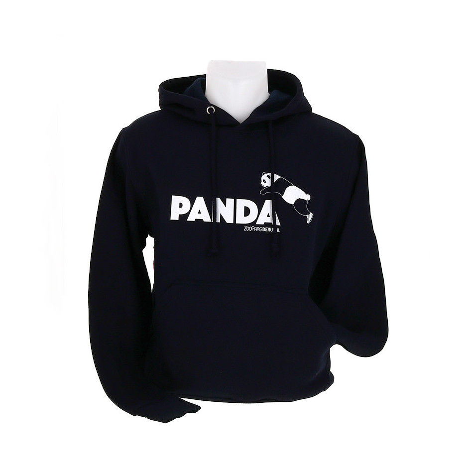 Sweat à capuche panda sauteur adulte