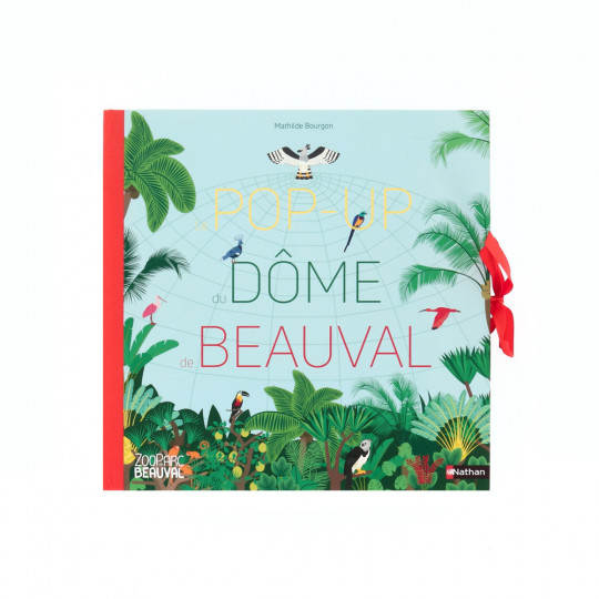 "Livre ""Le Pop-up du dôme de Beauval"""