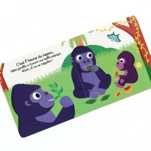 Livre « Bonne nuit bébé gorille ! »