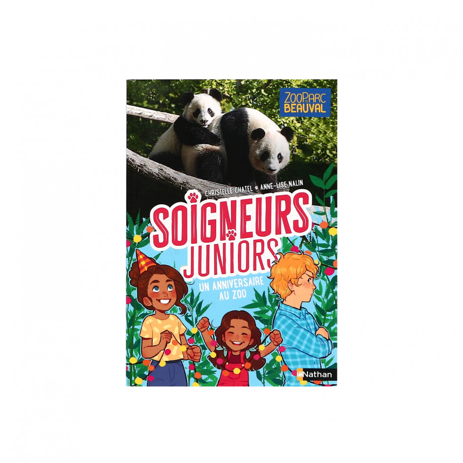 Livre Tome 1 « Soigneurs Juniors / Un anniversaire au zoo »