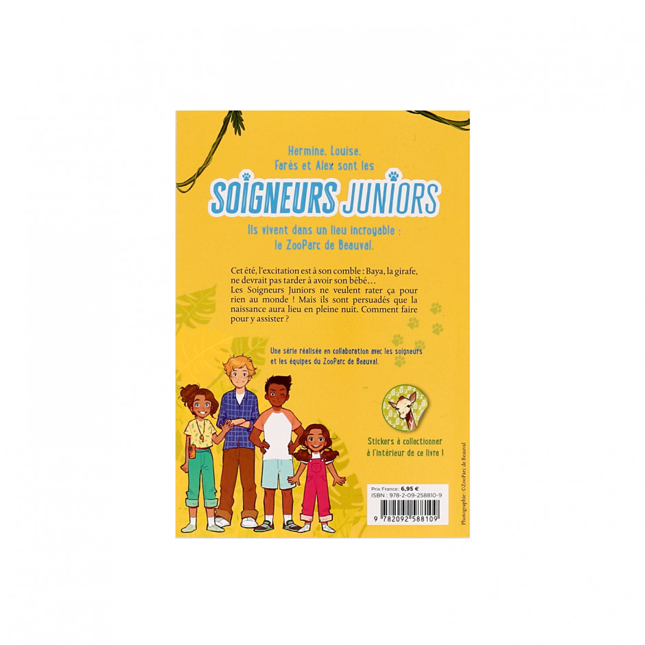 Livre Tome 3 « Soigneurs Juniors / Mission girafon »
