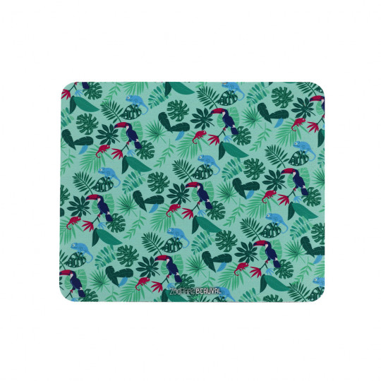 Tapis de souris woman jungle
