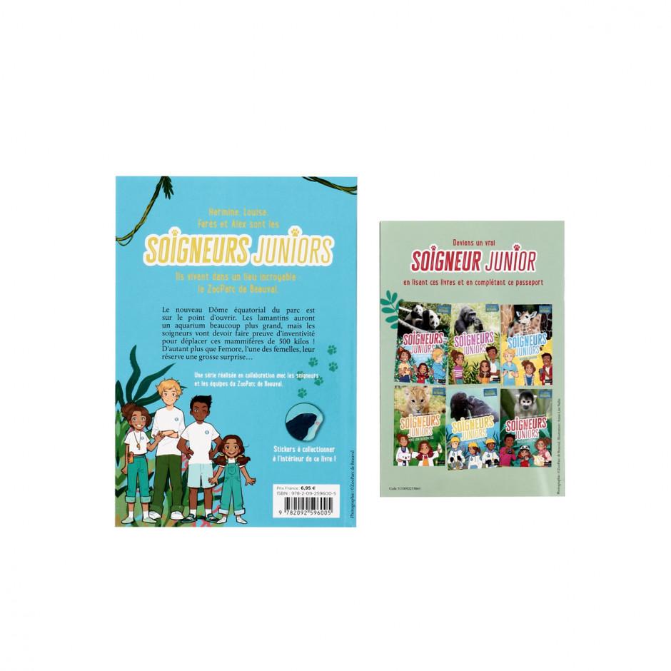 Livre Tome 5 « Soigneurs Juniors / Les lamantins déménagent !  »