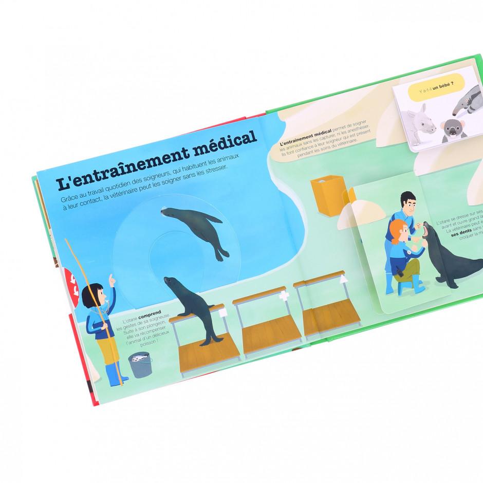 Livre « Vétérinaire au zoo »