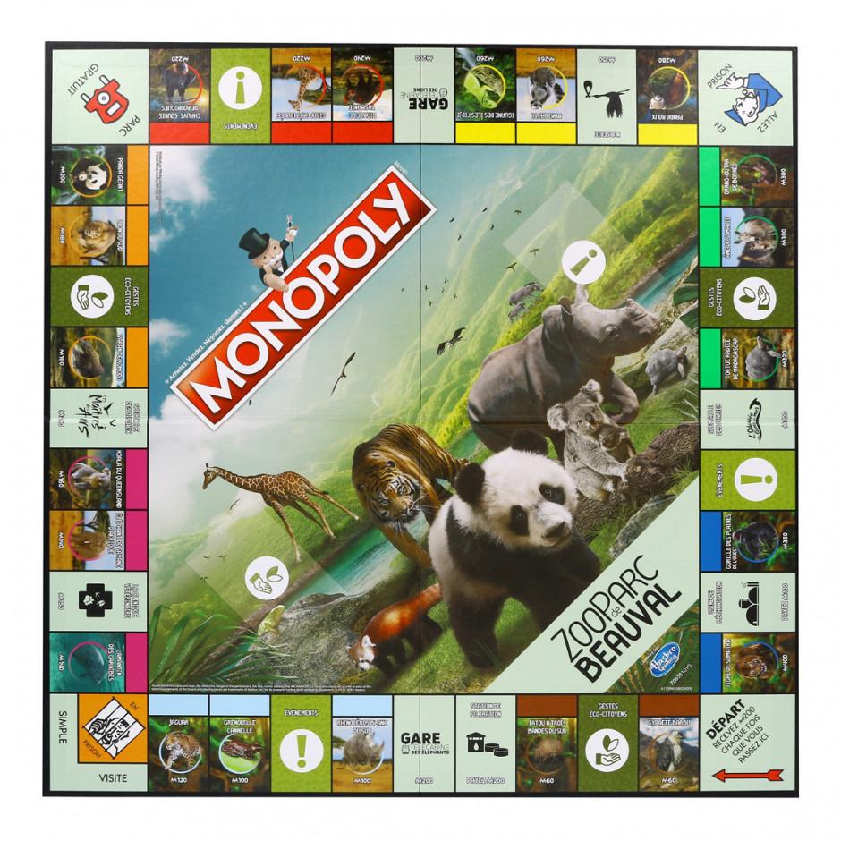 Jeu de société Monopoly ZooParc de Beauval