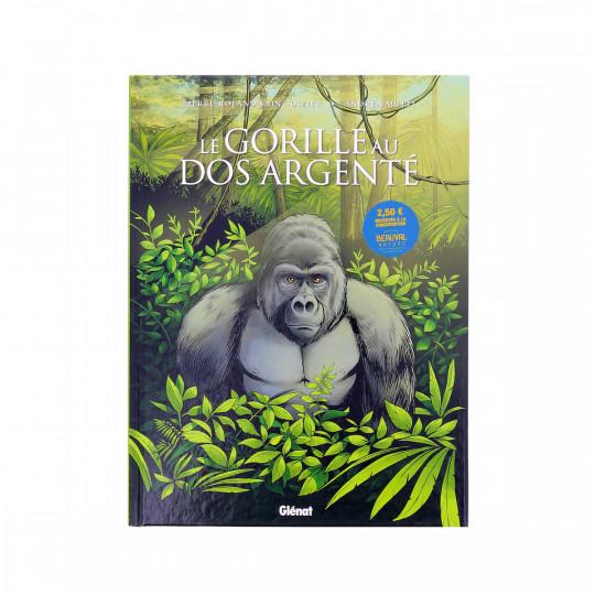 Bande dessinée «Le gorille au dos argenté»