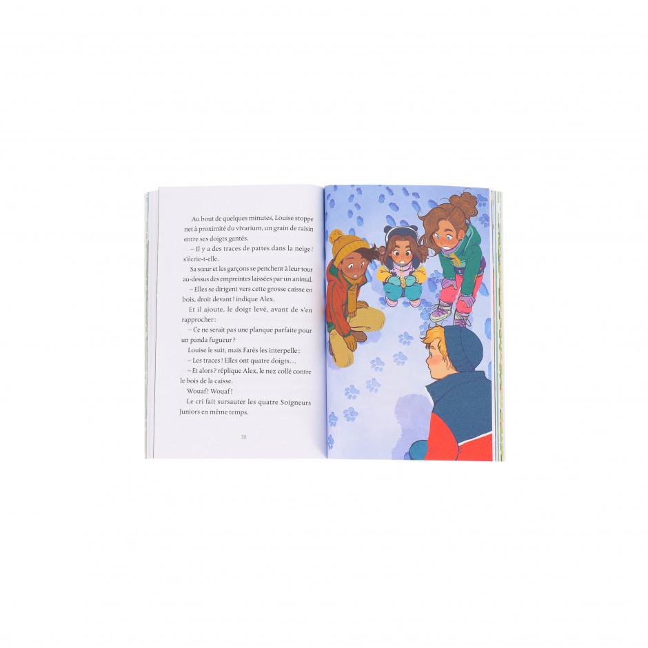 Livre Tome 7 «Soigneurs Juniors / Un Noël au zoo»