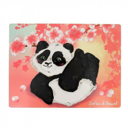 Set de table panda cerisier
