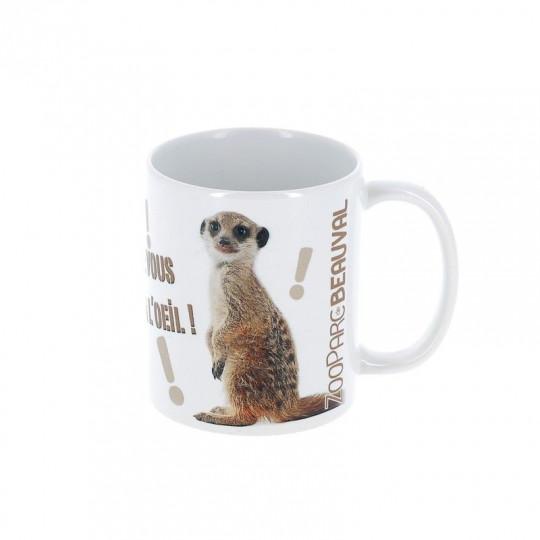 """Mug suricate """"je vous ai à l'œil"""""""