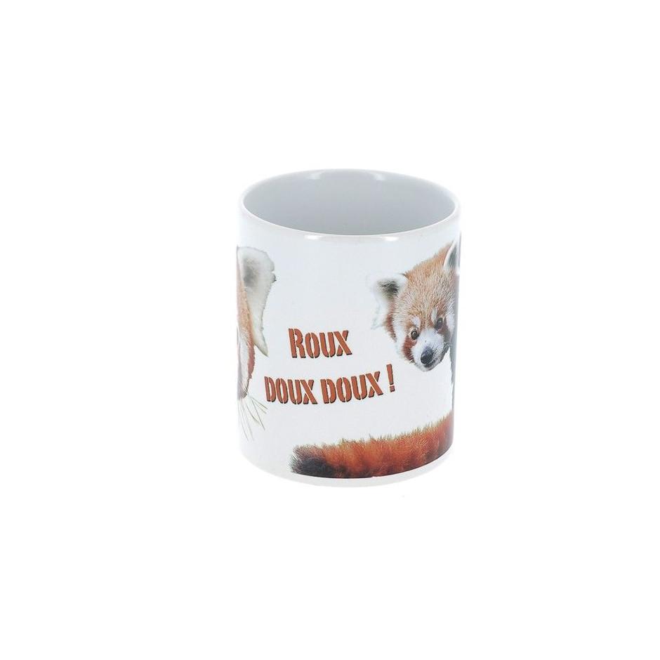 "Mug panda roux ""roux doux doux"""