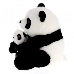 Peluche panda Xie Xie et son bébé