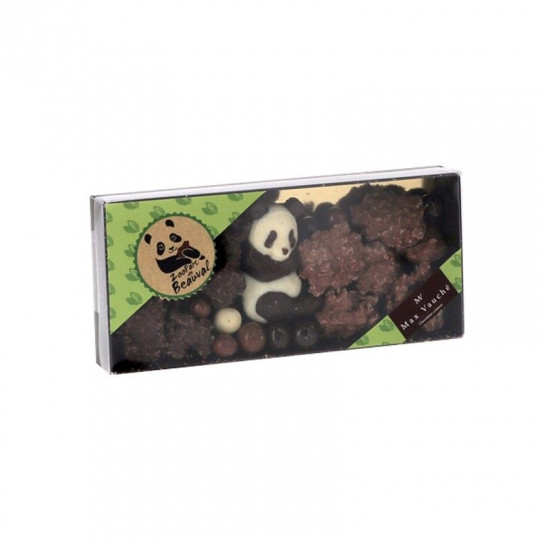Coffret 3 chocolats panda Max Vauché